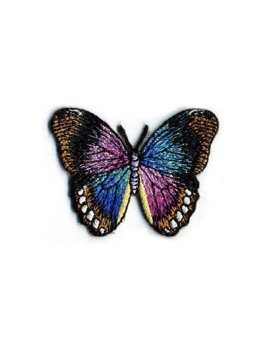 Thermo badge Papillon monarque noir