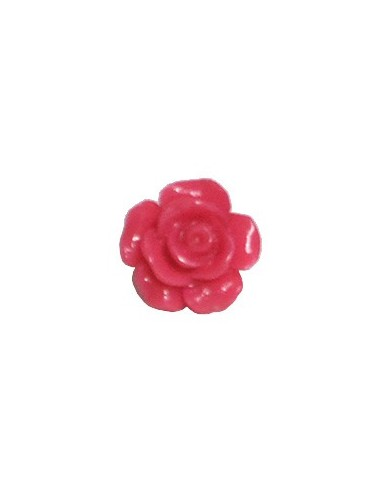 Bouton Fleur 13mm Pivoine