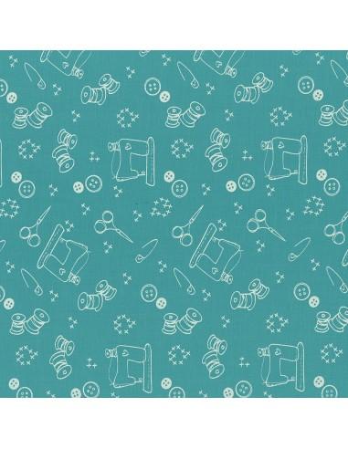 Tissu en coton I Love Couture Bora Bora motif 111