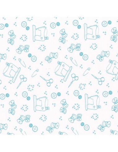 Tissu en coton I Love Couture Bora Bora motif 213