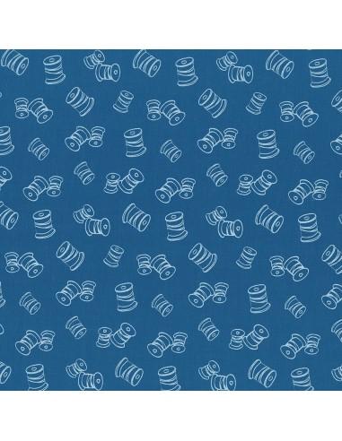 Tissu en coton I Love Couture Porcelaine motif 327