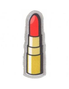 Thermocollant et autocollant rouge à lèvre
