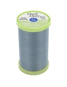Bobine de 297m de fil Dual Duty à quilter - bleu gris