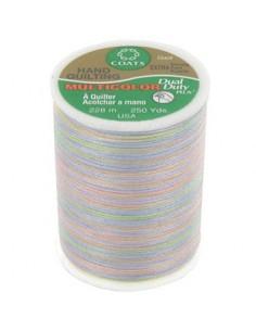 Bobine de 228m de fil multicolor Dual Duty à quilter - clair