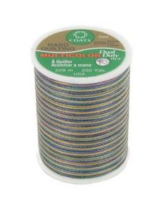 Bobine de 228m de fil multicolor Dual Duty à quilter - foncé
