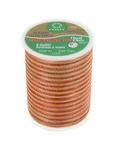 Bobine de 228m de fil multicolor Dual Duty à quilter - orange