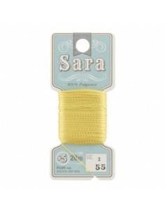 Fil à broder Sara à la carte 20m Mimosa
