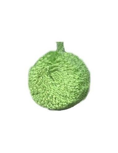 Pompon boule 2cm - Vert