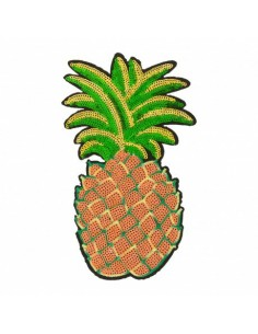 Thermocollant Ananas géant pailleté