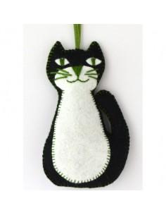 Kit créatif en feutrine - le chat noir