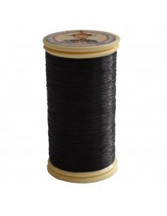 Bobine de 100m de fil métallisé Noir