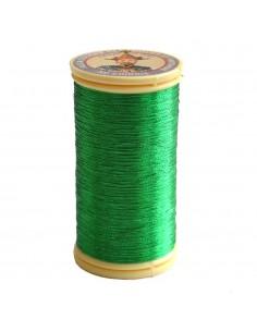 Bobine de 100m de fil métallisé Vert jardin