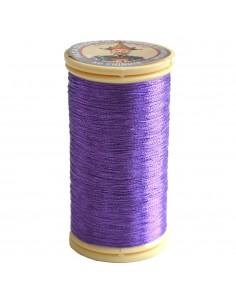 Bobine de 100m de fil métallisé Violet