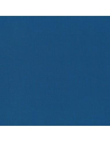 Tissu en coton Swan solid Bleu de Prusse