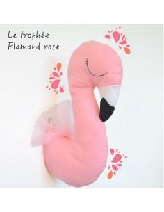 Kit pour réaliser un trophée Flamand Rose