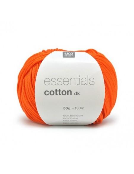 Pelote Essentials cotton dk citrouille