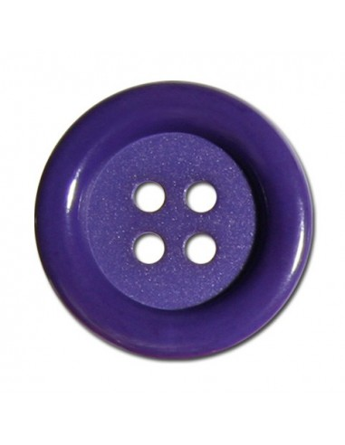 Bouton Rond 33mm Violet