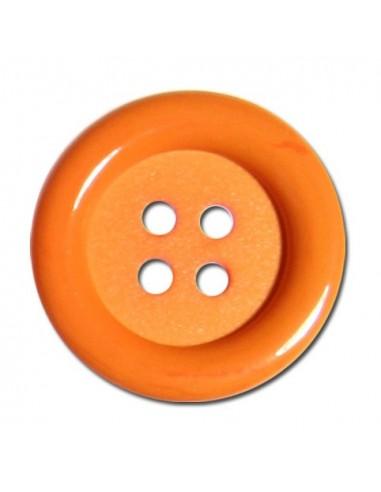 Bouton Rond 33mm Orange