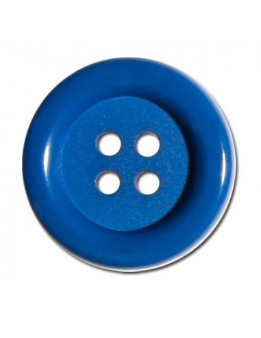 Bouton Rond 33mm Bleu roy