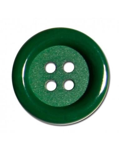 Bouton Rond 33mm Vert sapin
