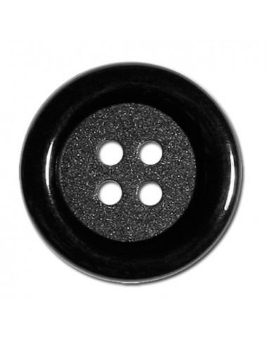 Bouton Rond 33mm Noir
