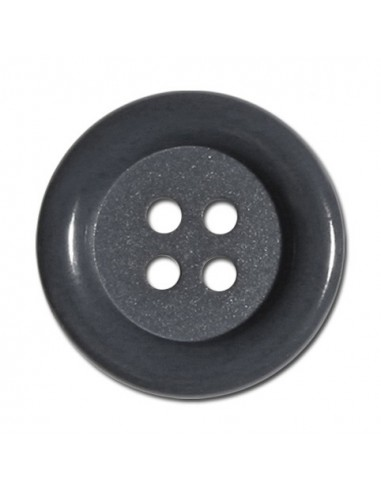 Bouton Rond 33mm Gris