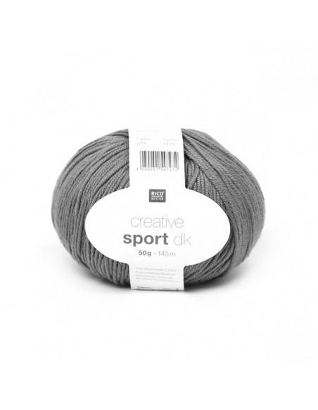 Acheter Pelote Creative sport print dk bleu pétrole sur La