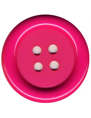 Bouton Rond Rose 62mm