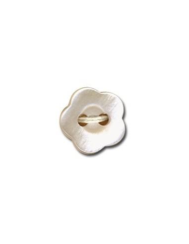 Bouton Fleur 12mm Poudre