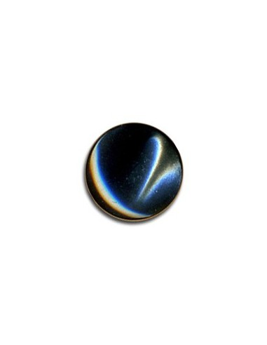 Bouton Plastique Rond 11mm Anthracite