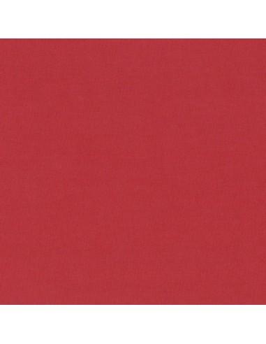 Tissu en coton léger Unis coloris Cerise