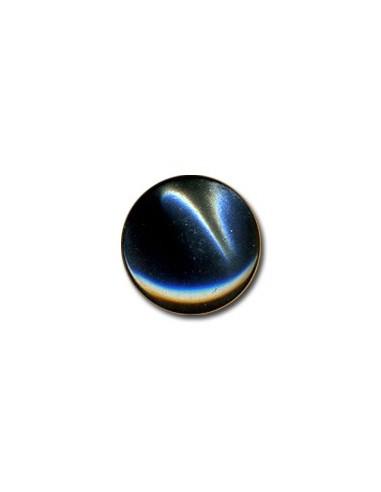 Bouton Plastique Rond 15mm Anthracite