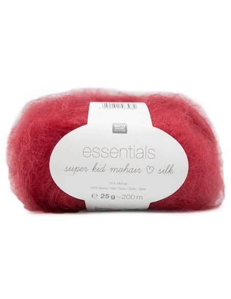 Pelote Essentials super kid mohair loves silk loam