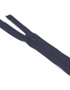 Fermeture Eclair Nylon 35cm Marine