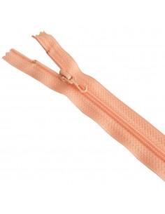 Fermeture Eclair Nylon 15cm Saumon