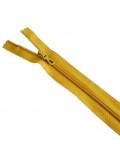 Fermeture Eclair Nylon 25cm Moutarde