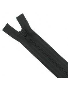 Fermeture Eclair Injectée Séparable 70cm Noir
