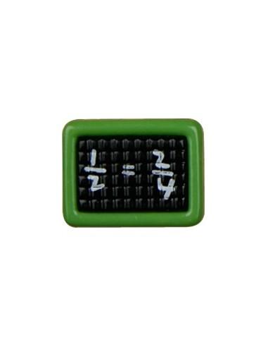 Bouton Ardoise 16mm Vert
