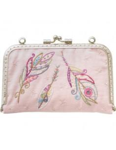 Kit à broder - Romantique cousette jolies plumes