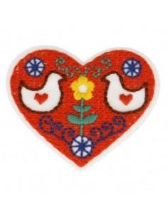 Thermo badge Nordique - La coeur