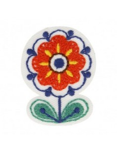 Thermo badge Nordique - La fleur