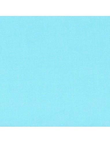Tissu en coton léger Unis coloris Lagon