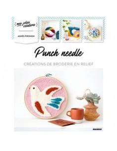 Punch needle - 10 créations de broderie en relief